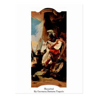 Postal Hannibal de Juan Battista Tiepolo