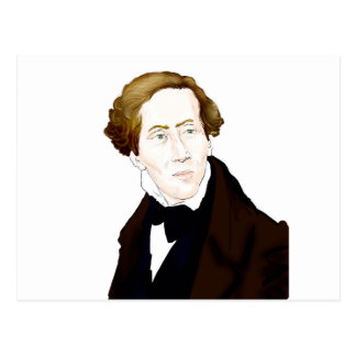 Postal Hans Christian Andersen