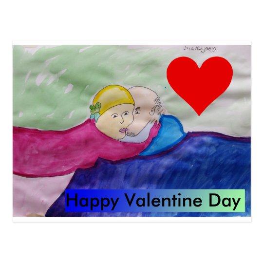 Postal Happy Valentine's Day