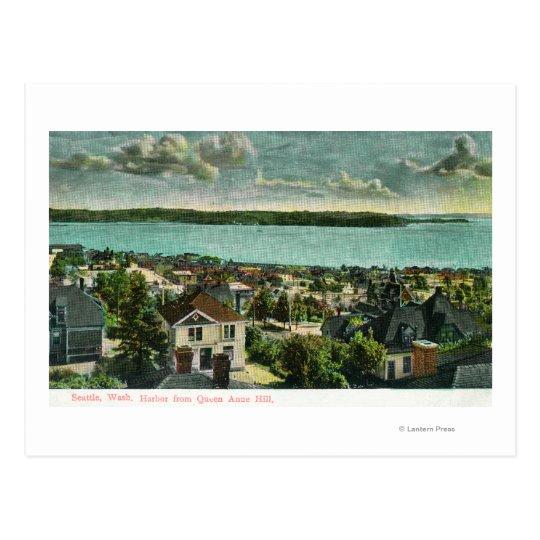 Postal Harborview de la colina de la reina Anne