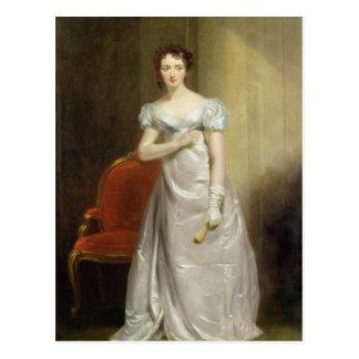 Postal Harriet Smithson (1800-54) como Srta. Dorillon,