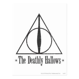 Postal Harry Potter el | el mortal santifica el emblema