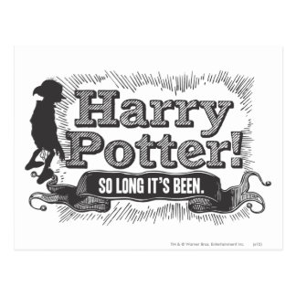Postal ¡Harry Potter! Ha estado tan de largo