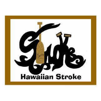Postal hawaiana del movimiento