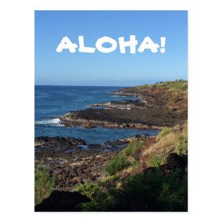 Postal HAWAIANA hermosa