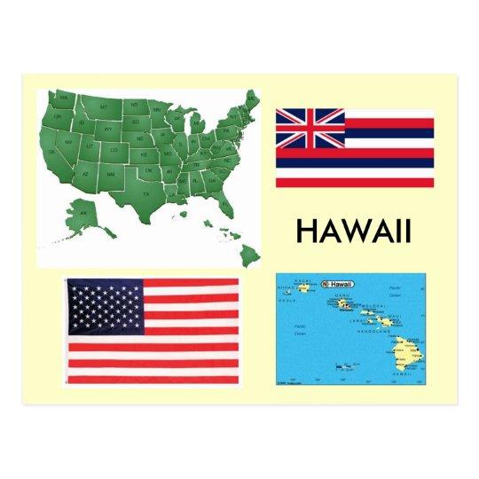 Postal Hawaii, los E.E.U.U.