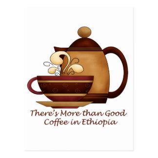 Postal Hay más que el buen café en Etiopía