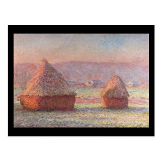 Postal Haystacks Monet