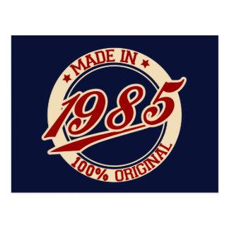 Postal Hecho en 1985