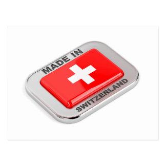 Postal Hecho en Suiza