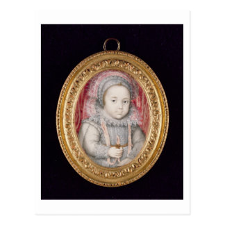 Postal Henry, Príncipe de Gales (retrato miniatura)