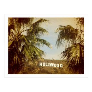 ¡Postal hermosa de Hollywood! Postal