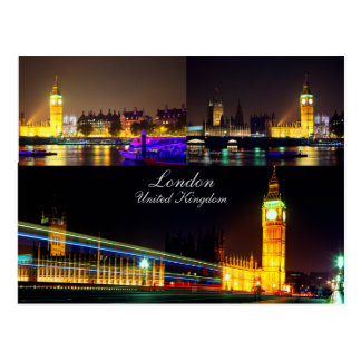 Postal hermosa de Londres