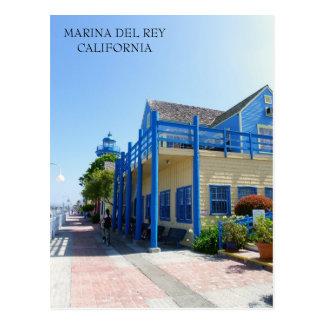 ¡Postal hermosa de Marina Del Rey!