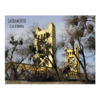 ¡Postal hermosa de Sacramento! Postal