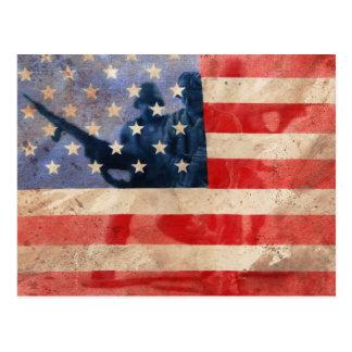 Postal Héroes americanos