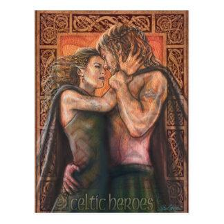 Postal Héroes célticos