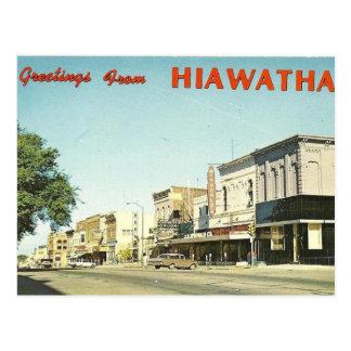 Postal Hiawatha Kansas