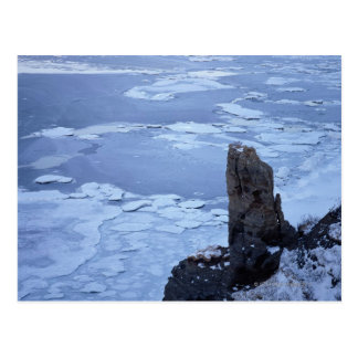 Postal Hielo de deriva del lago Notori 2