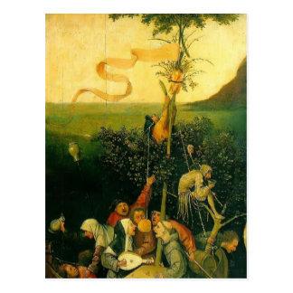 Postal Hieronymus Bosch la nave de tontos
