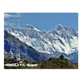 Postal HIMALAYA - una de 1000 visiónes desde NEPAL