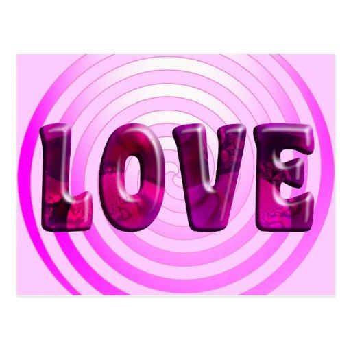 Postal hipnótica del amor