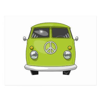 Postal Hippie 1960 Van
