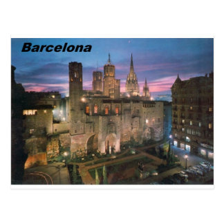 Postal historia --Barcelona--barrio hispano--gotico Angie