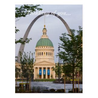 Postal Historia de St. Louis