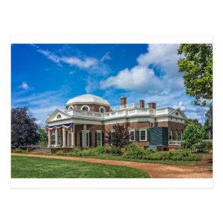 Postal Hogar de Thomas Jefferson en Monticello