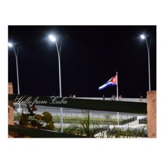 Postal Hola de Cuba