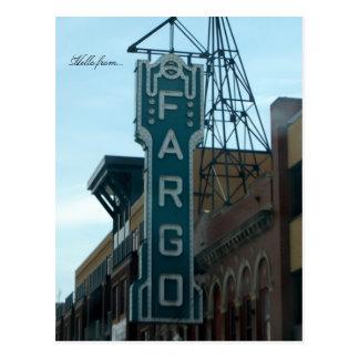 Postal Hola de… Fargo, ND