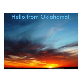 Postal Hola de Oklahoms