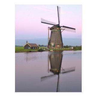 Postal holandesa del molino de viento