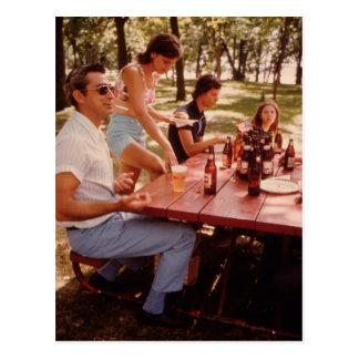 Postal ¡Hombre, amo la cerveza! - Vintage