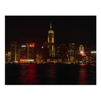 Postal Hong Kong céntrico de Kowloon