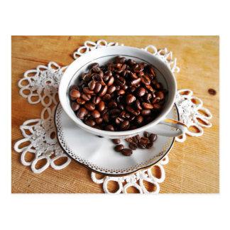 Postal Hora para una taza de café