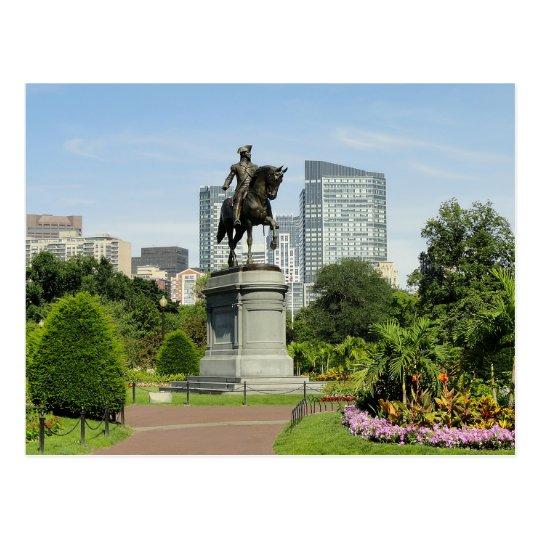 Postal Horizonte de Boston Massachusetts - los E.E.U.U.