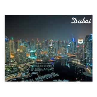 Postal Horizonte de Dubai, United Arab Emirates en la