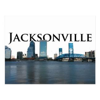 Postal Horizonte de Jacksonville con Jacksonville en el