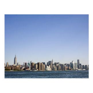 Postal Horizonte de Manhattan, New York City, NY, los