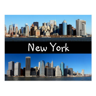 Postal Horizonte de Manhattan, Nueva York