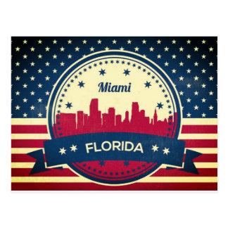 Postal Horizonte de Miami la Florida