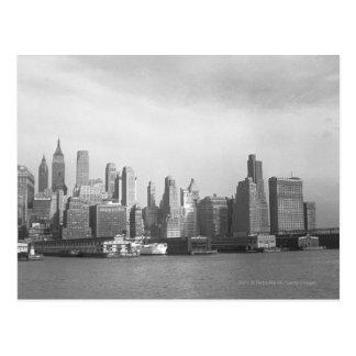 Postal Horizonte de New York City del Estado de Nuevo