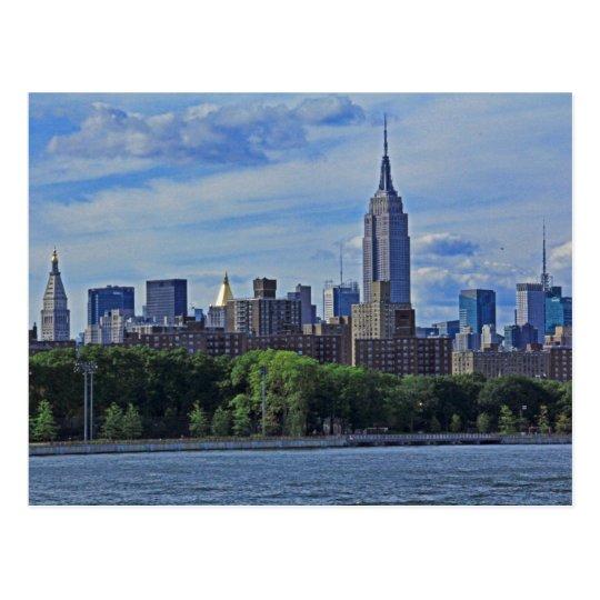 Postal Horizonte de NYC del East River 002