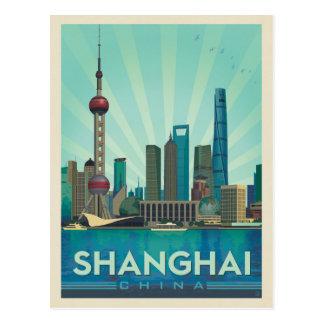 Postal Horizonte de Shangai, China el |
