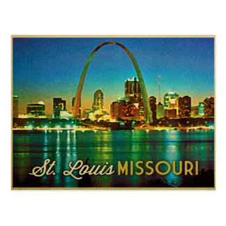 Postal Horizonte de St. Louis Missouri