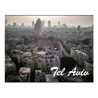 Postal Horizonte de Tel Aviv