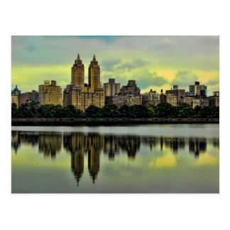 Postal Horizonte del Central Park de New York City