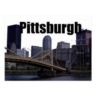 Postal Horizonte del PA de Pittsburgh con Pittsburgh en